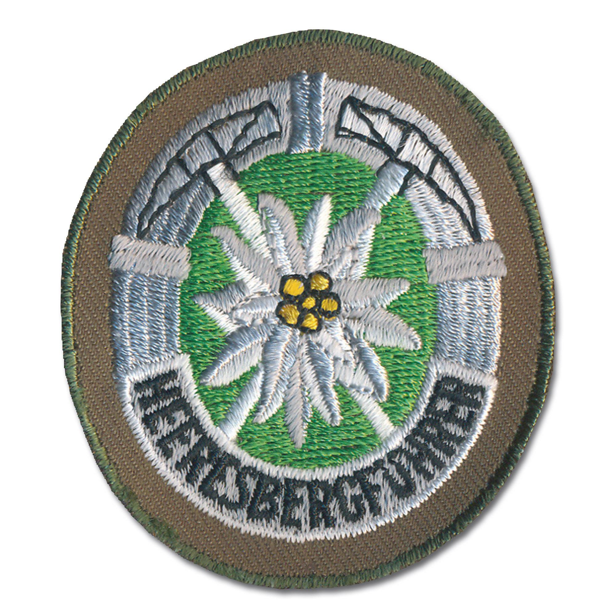 Distintivo Bw Heeresbergführer verde oliva
