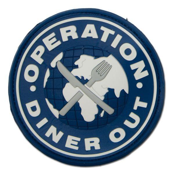 Parche 3D Operation Diner Out a colores