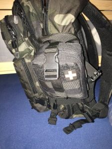 Befestigung an meinem Rucksack