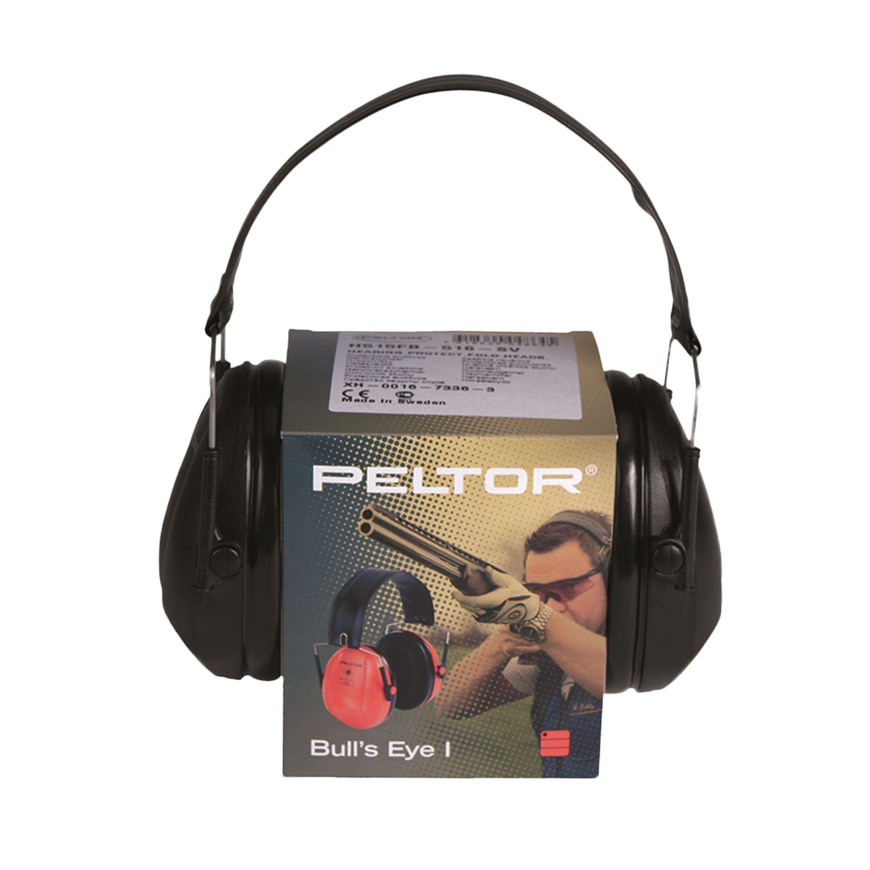 Protector auditivo Peltor Bulls Eye I negro