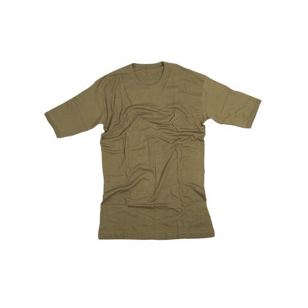 Camiseta británica semi-nueva verde oliva