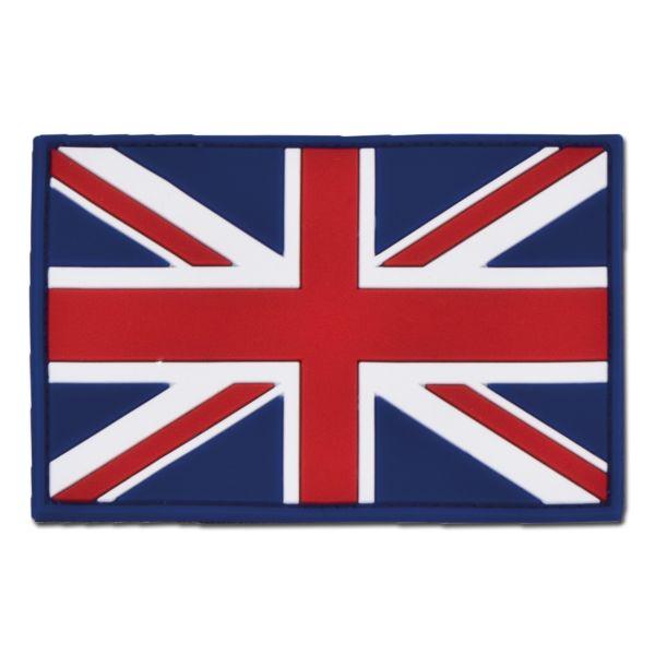 Parche 3D bandera de Gran Bretaña a colores