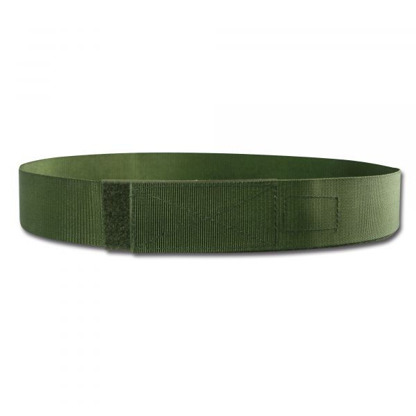 Cinturón con velcro TacGear verde oliva