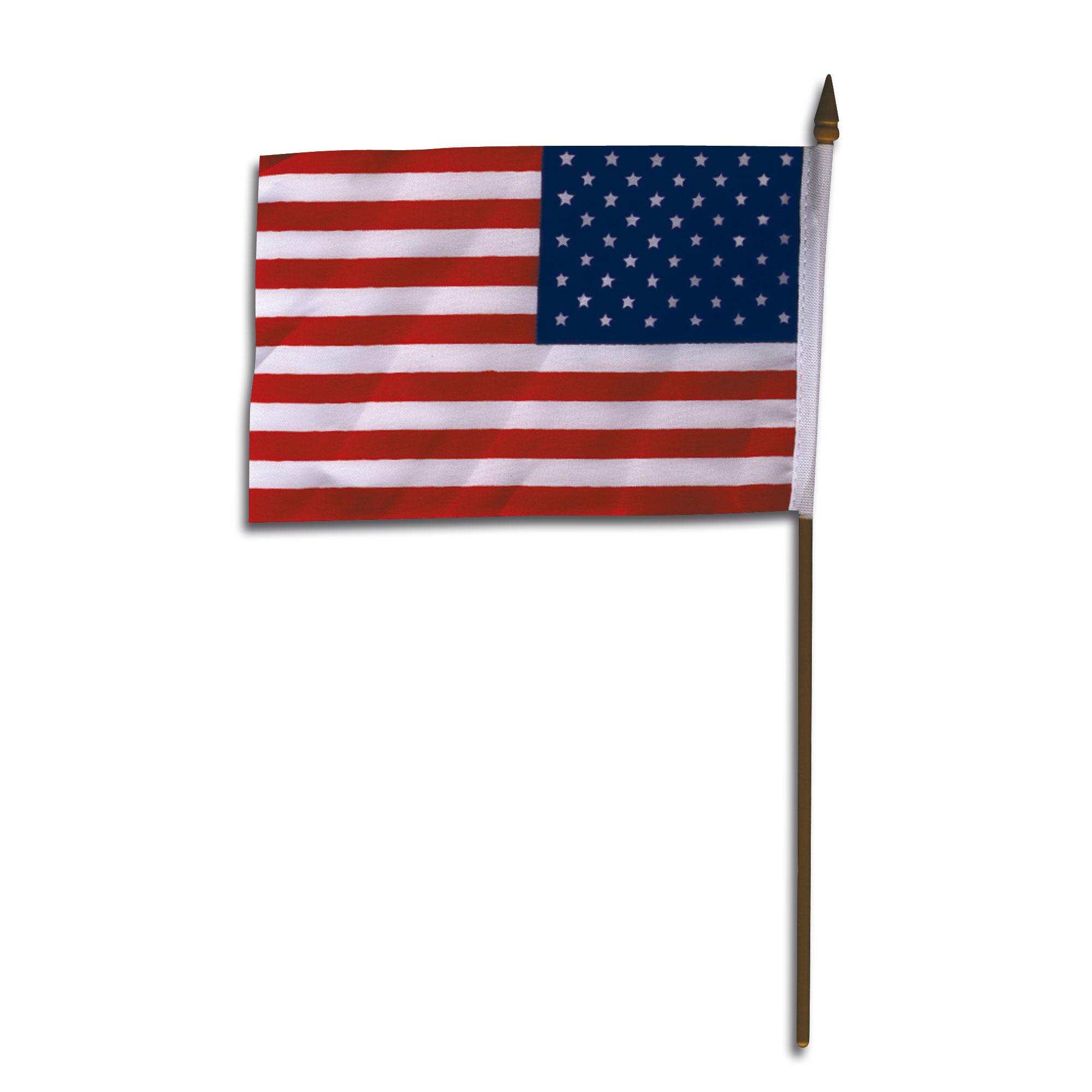 Mini-bandera de mano USA