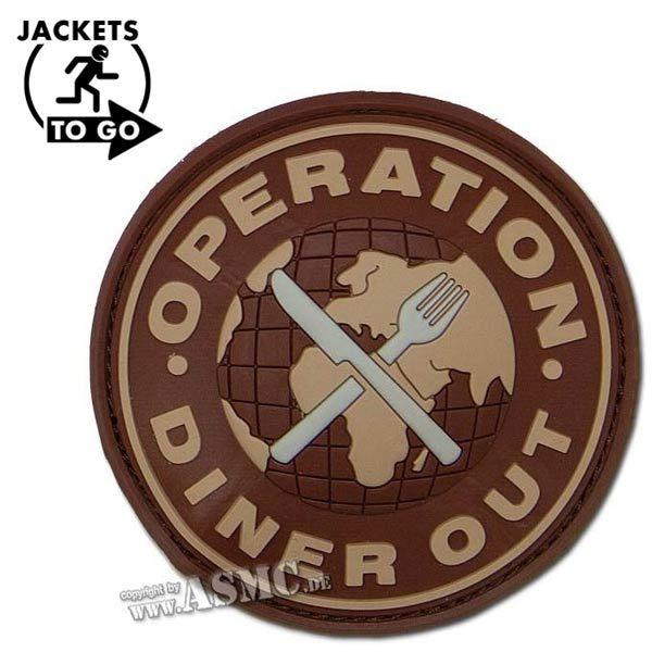 Parche 3D Operation Diner Out desert