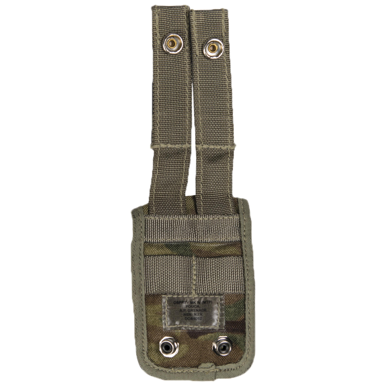 Funda para acoplamiento británico AP Grenade MTP camo usada
