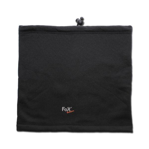 Bufanda tubular Fox Outdoor Softshell negra