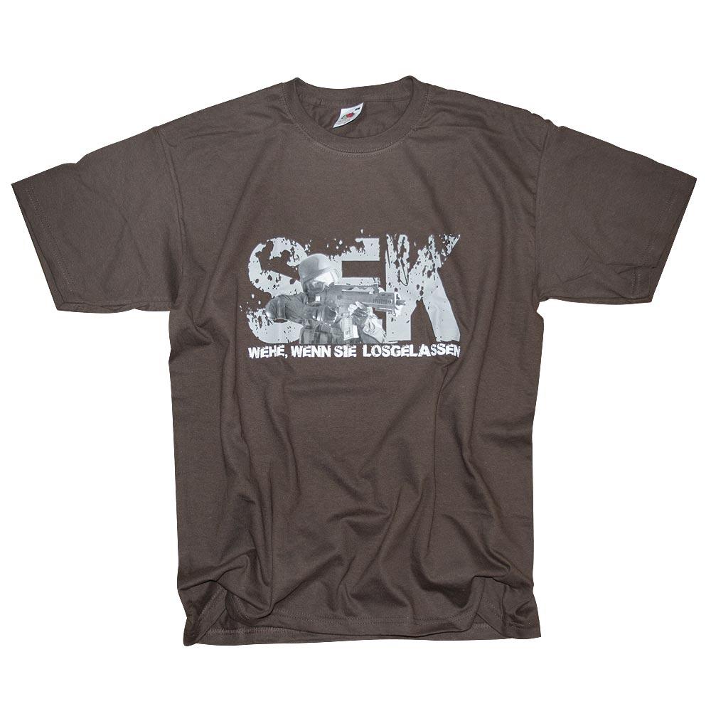 Camiseta SEK Milty69 marrón