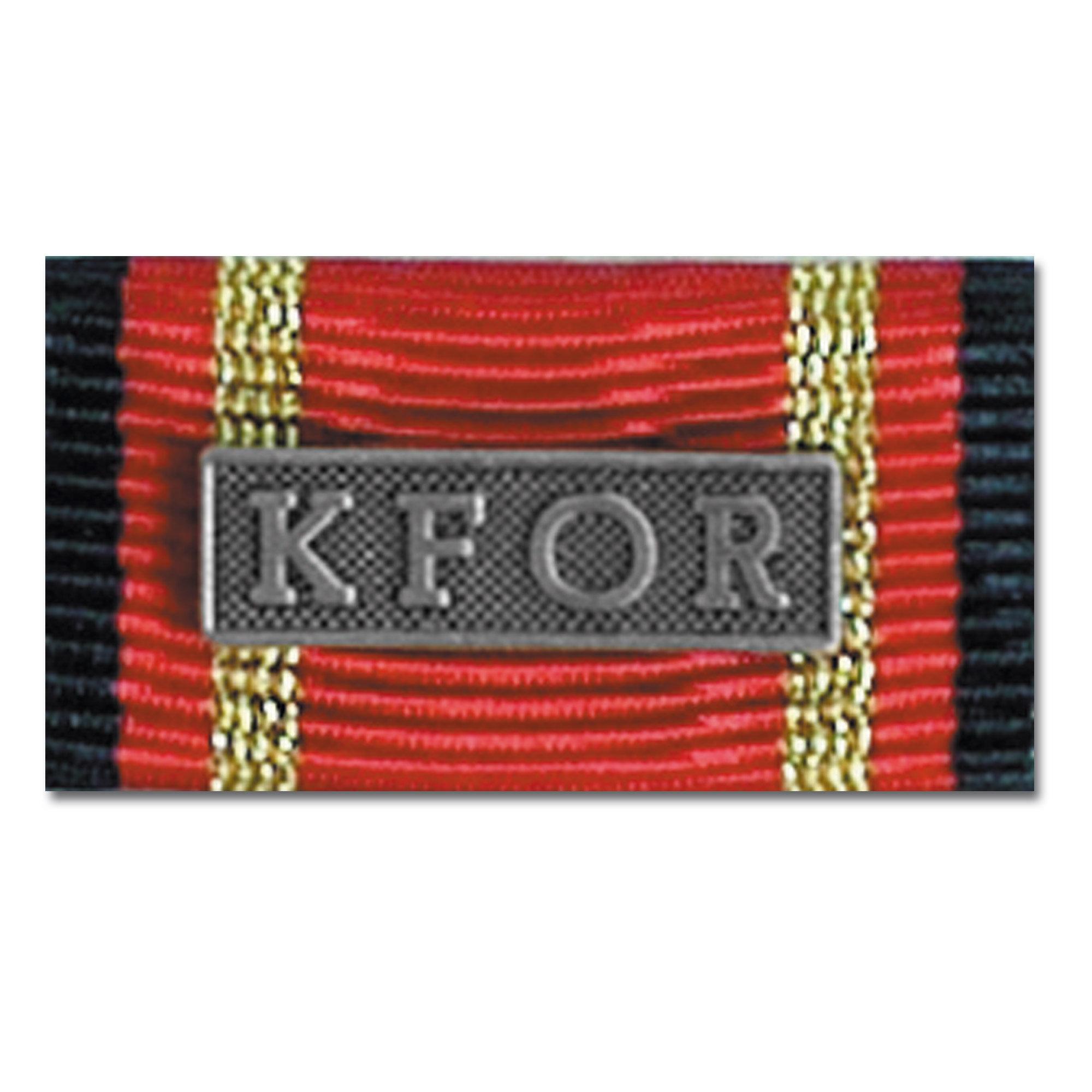 Medalla al servicio KFOR silber