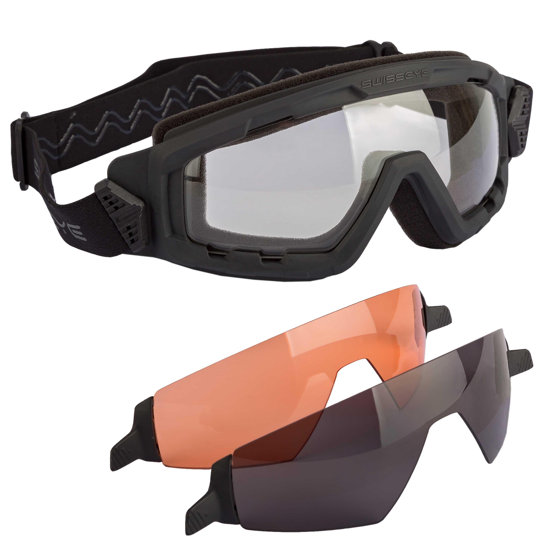 Gafas Swiss Eye G-Tac negras