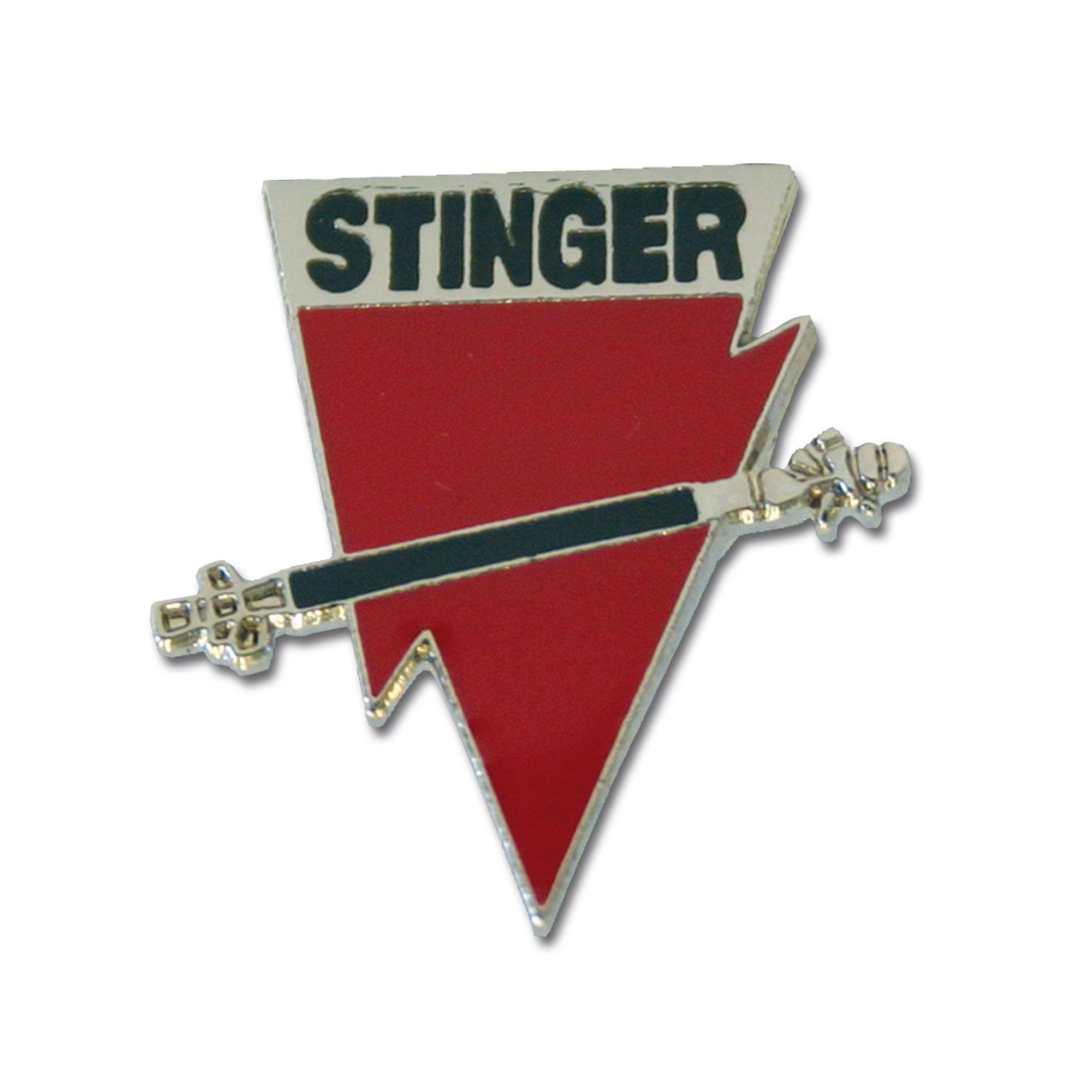 Mini pin metálico Stinger