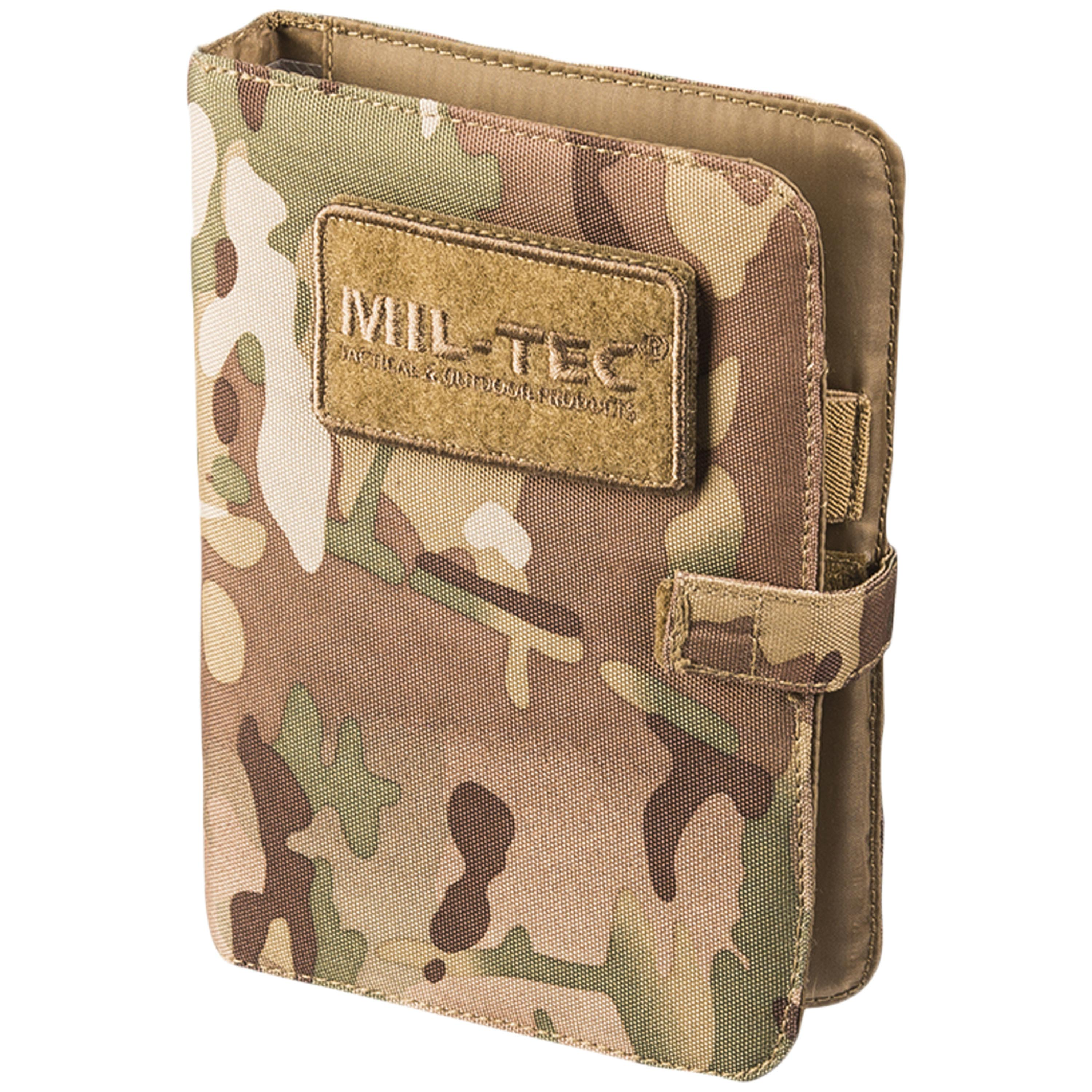 Libreta Tactical Notebook small multitarn