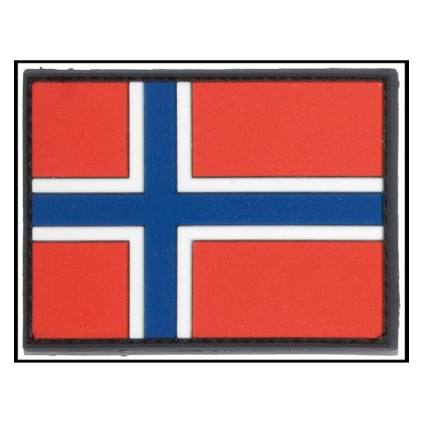 Parche -3D bandera Noruega