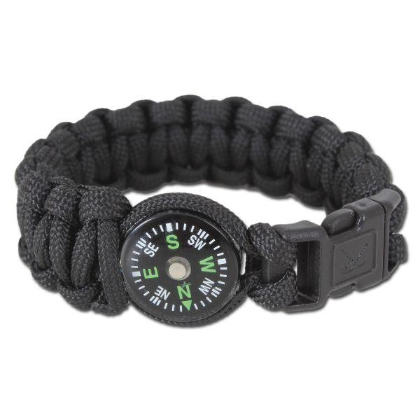 Rothco Bracelet W/brújula negra