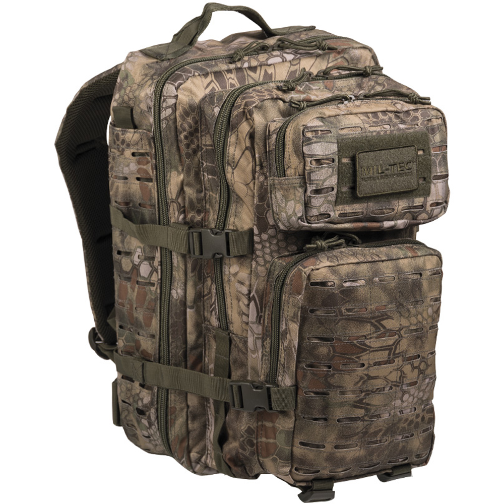 Mochila US Assault Pack LG Laser Cut mandra wood
