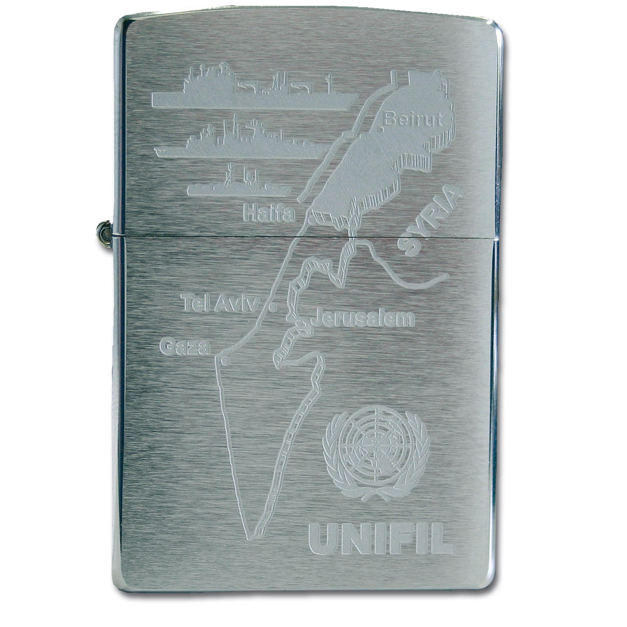 Zippo con grabado UNIFIL