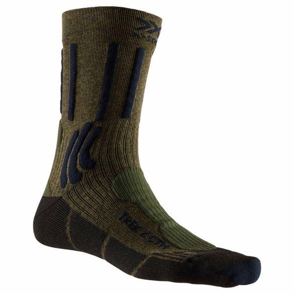 Calcetines X-Socks Trek X CTN verde