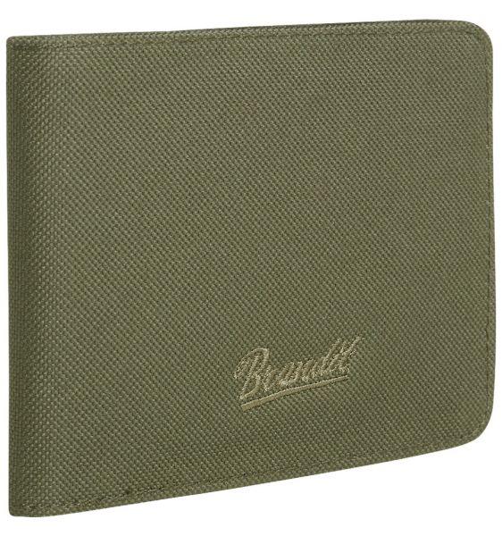 Brandit Billetera Wallet Four verde oliva