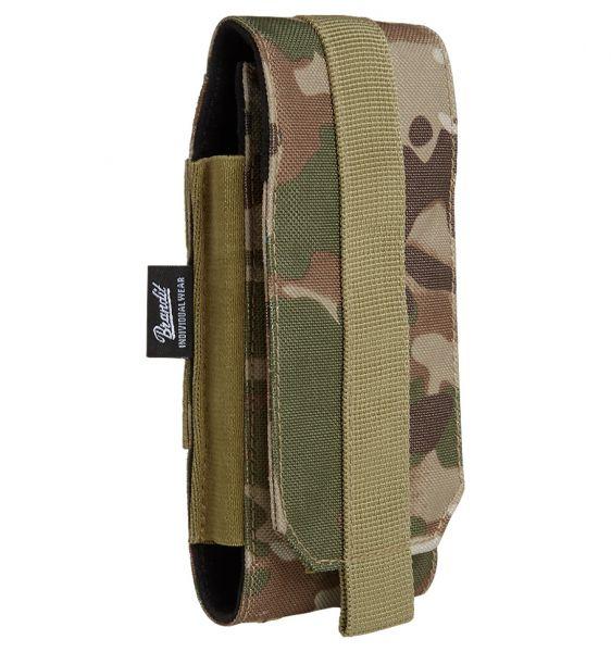 Brandit Funda telef. móvil Molle Phone Pouch large tactical camo