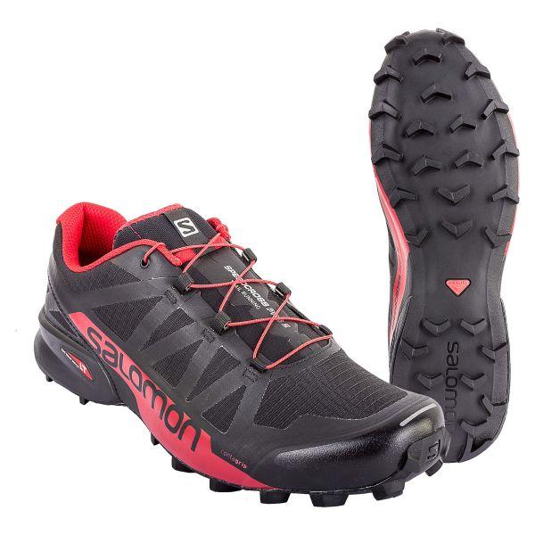 Calzado Salomon Speedcross Pro 2 negro rojo
