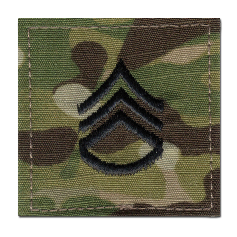 Distintivo de rango US Multicam Staff Sergeant