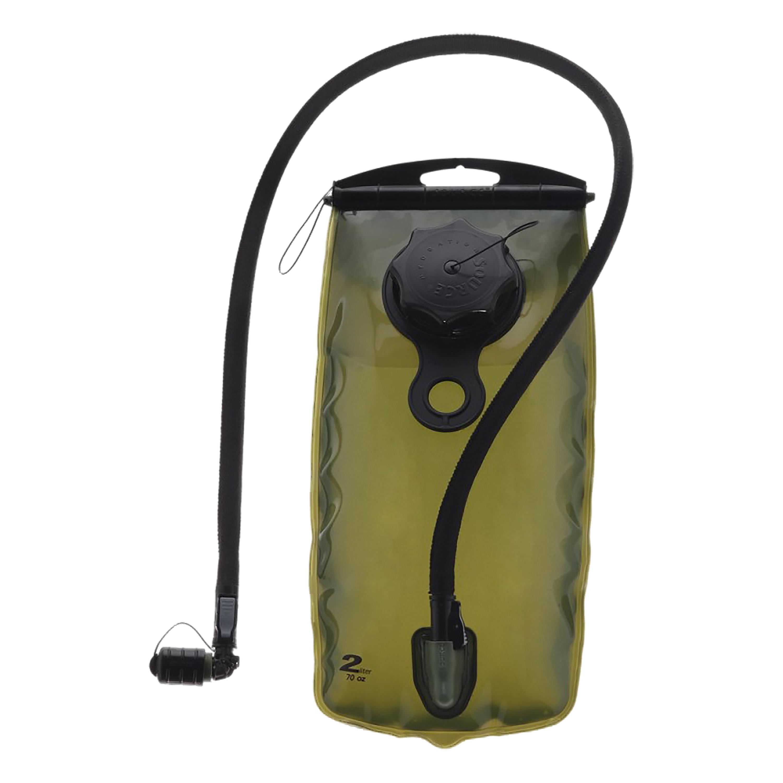Reservoir Source WXP transparente-verde oliva 2 litros