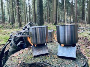 Wasser kochen mit Esbit