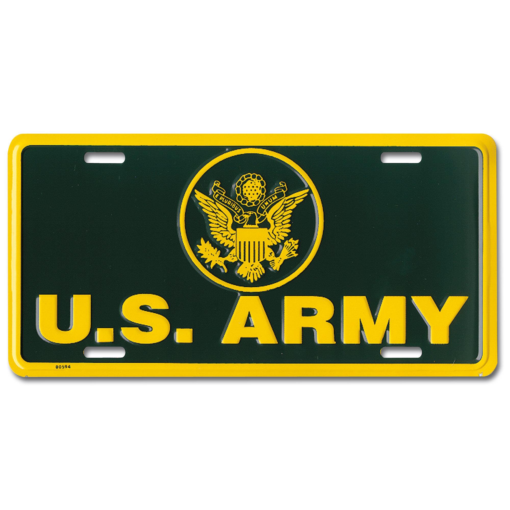 Placa US Army