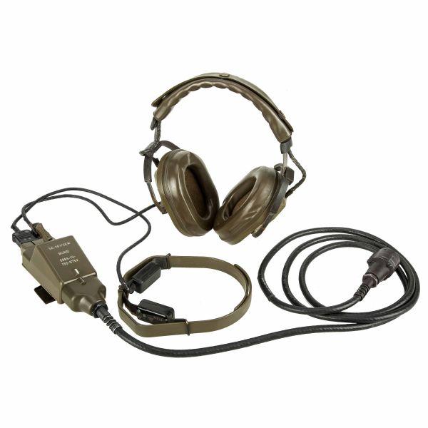 BW Set de auricular Funk Headset Telemit usado