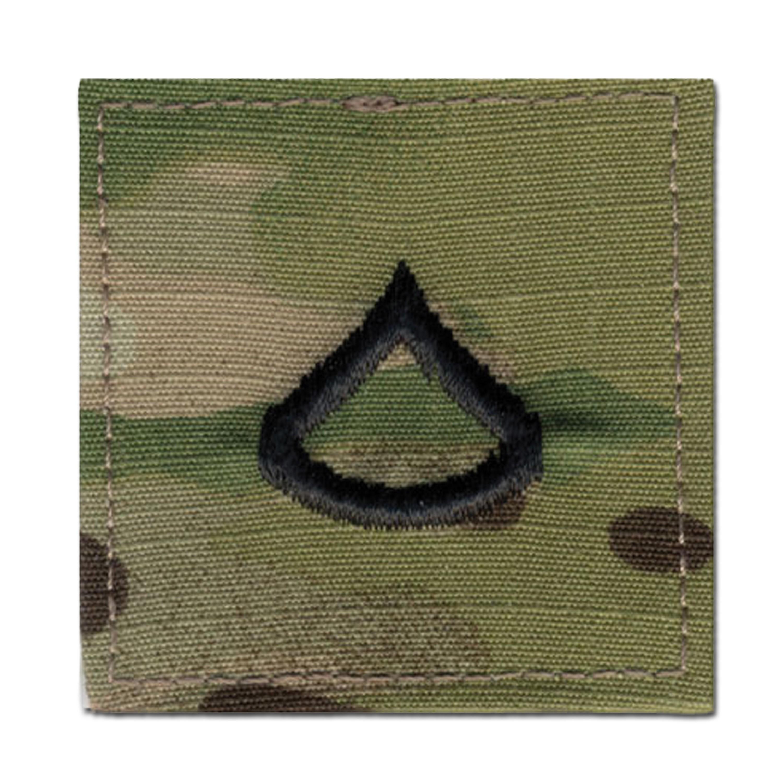 Distintivo de rango US Multicam Private First Class