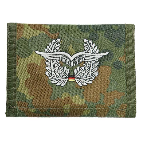 Billetera Luftwaffe flecktarn