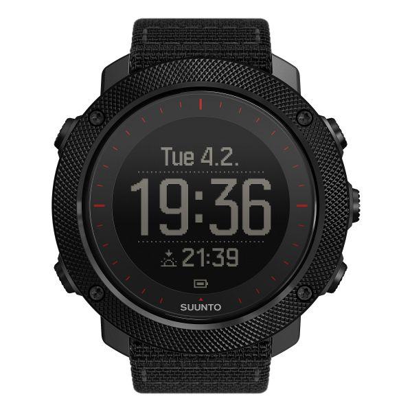Reloj Suunto Traverse Alpha Tac Edition negro rojo
