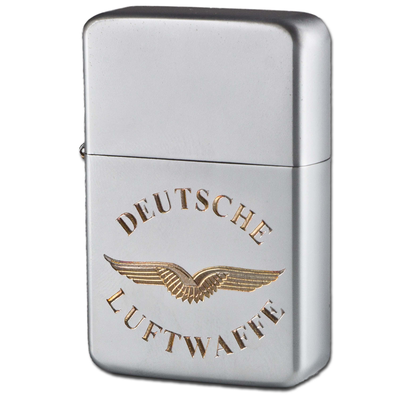 Encendedor de bolsillo Z-Plus Gas con grabado de Deutsche Luftwa