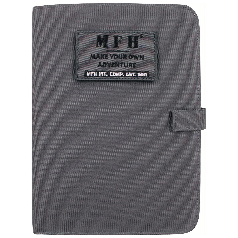 Agenda MFH cuaderno de anillas A5 urban gris
