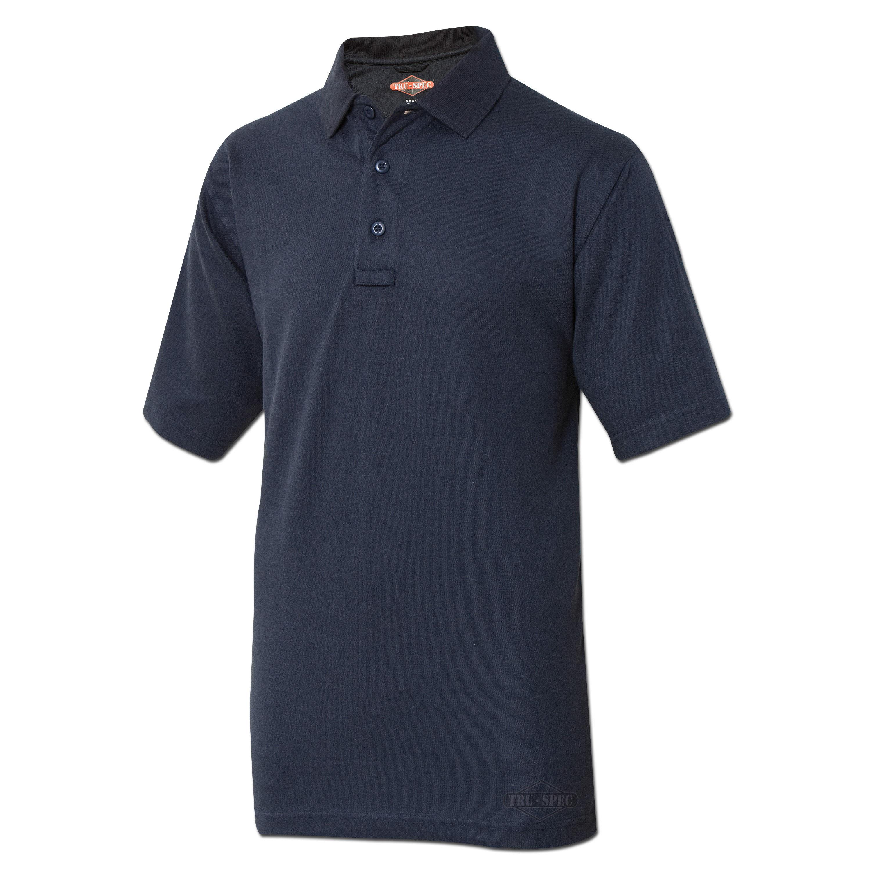 Camiseta polo Tru-Spec 24-7 manga corta azul