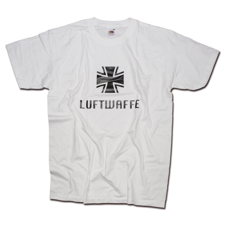 Remera Milty Luftwaffe blanca