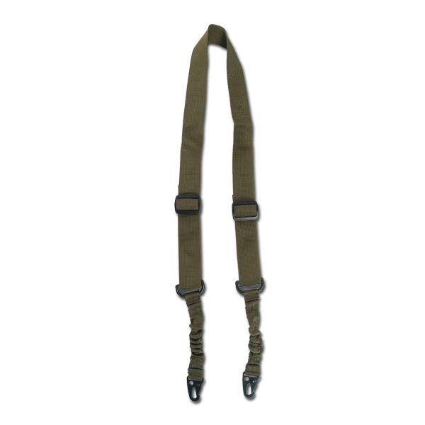 Mil-Tec 2-puntos Tactical carabinas - correa c/ bungee oliva