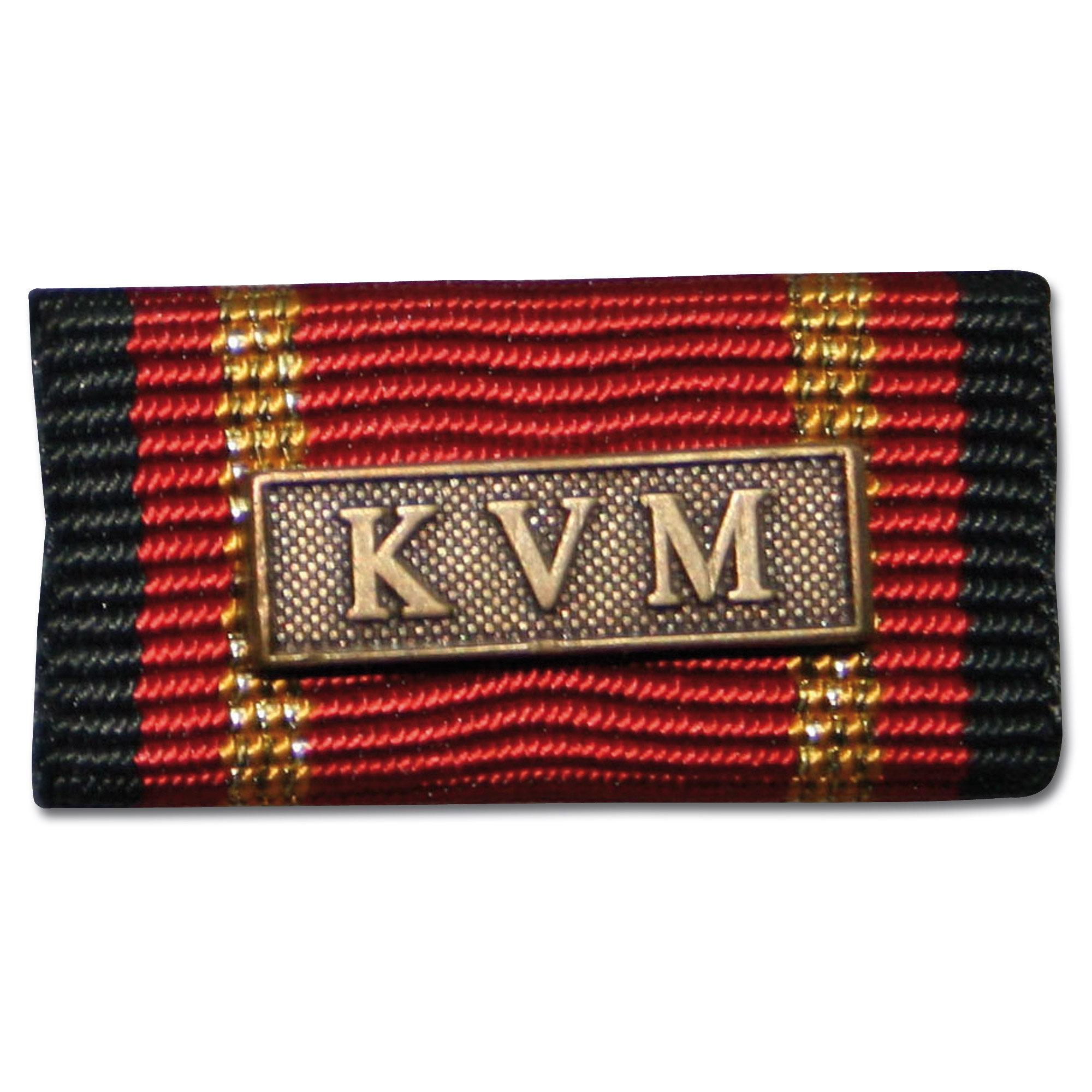 Placa de la orden por misiones en el extranjero KVM bronce