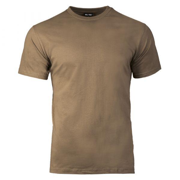 Camiseta Mil-Tec US Style coyote brown
