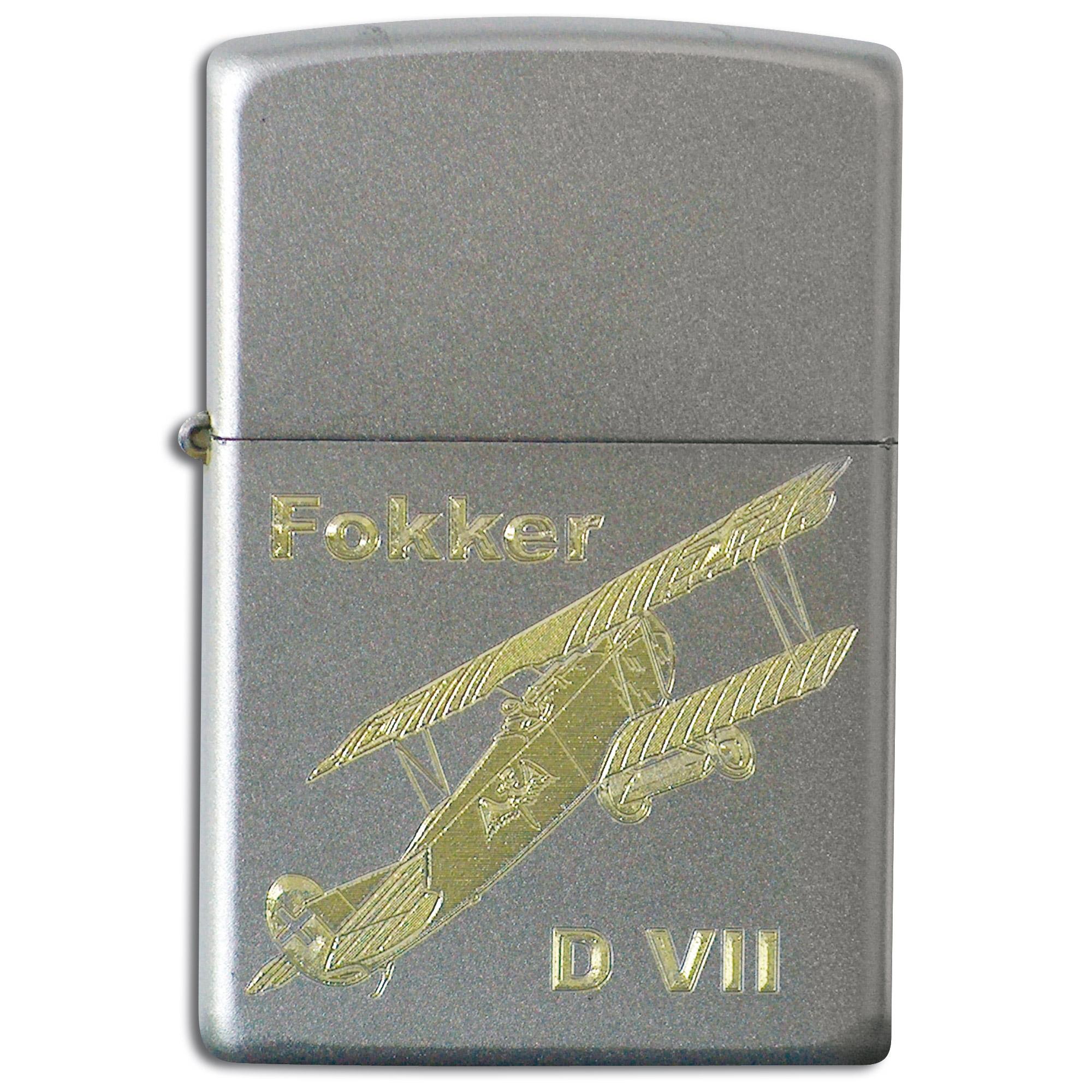 Zippo grabado con Fokker D VII