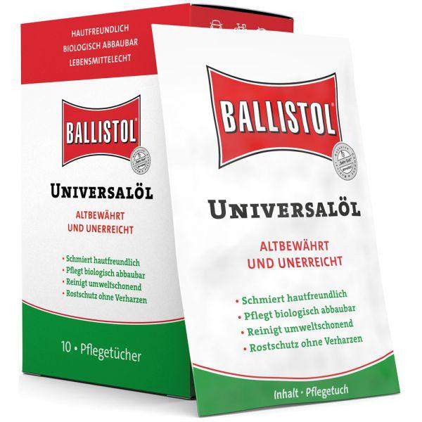 Ballistol Paños de Cuidado Universal caja 10 unidades