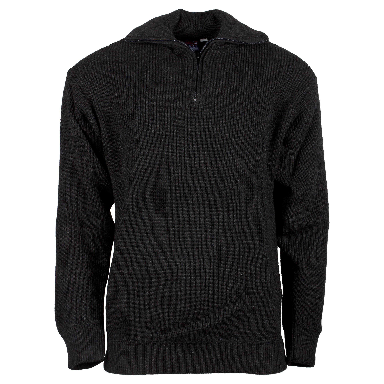 Suéter Troyer acrílico gris