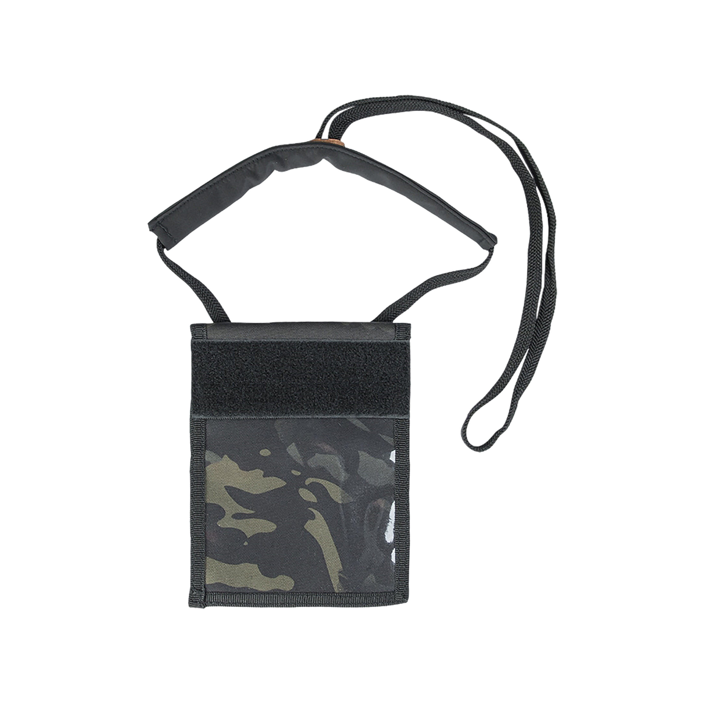 Portadocumentos Neck Wallet multicam black