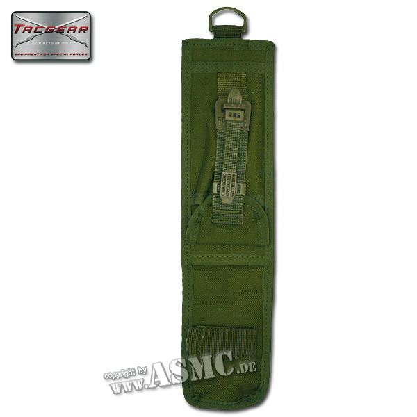 Funda para cuchillo TacGear verde oliva