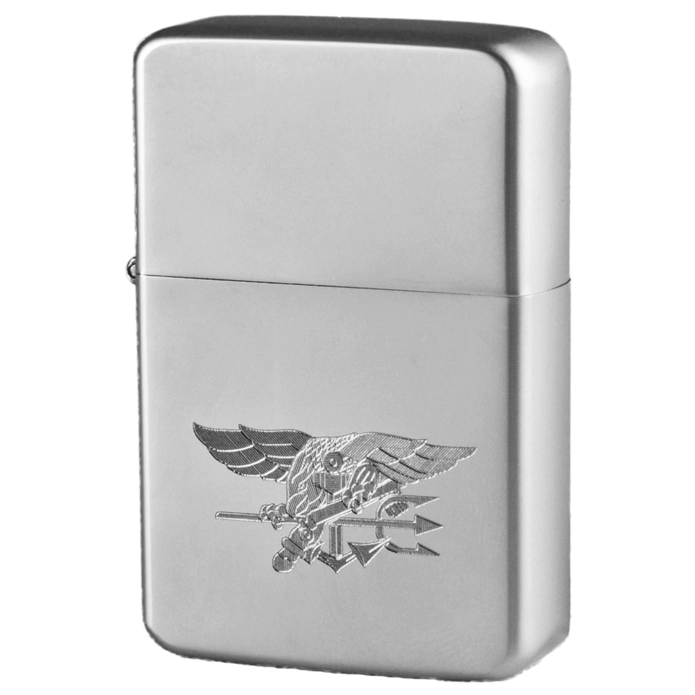 Encendedor de bolsillo Z-Plus Gas con grabado de US Seal