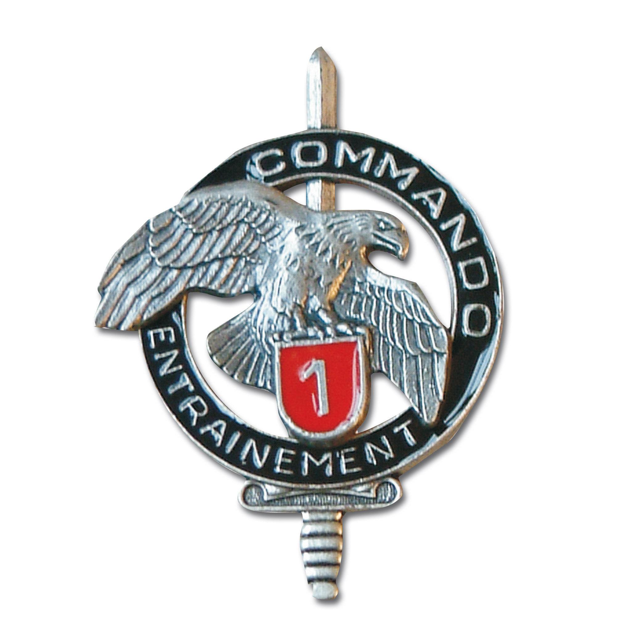 Insignia francesa Comando CEC 1