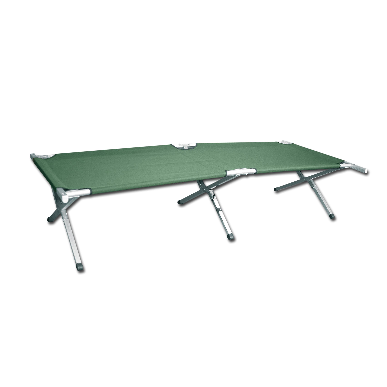 Cama de campa a us style verde oliva camas de campa a for Muebles camping