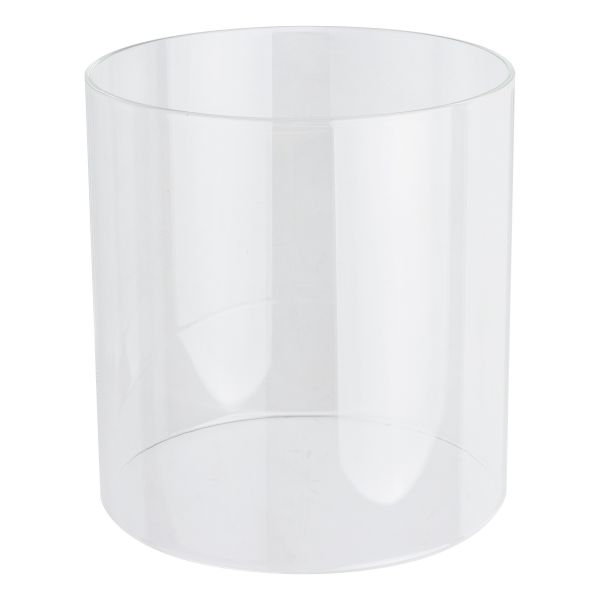 Cristal cilíndrico para lámpara de luz fuerte