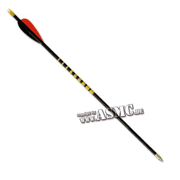 """Flecha de madera negra 26"""""""
