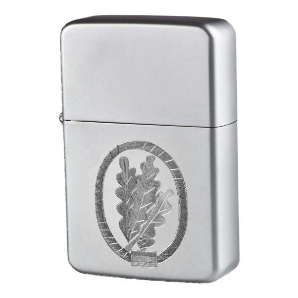 Encendedor de bolsillo Z-Plus Gas con grabado de Jäger